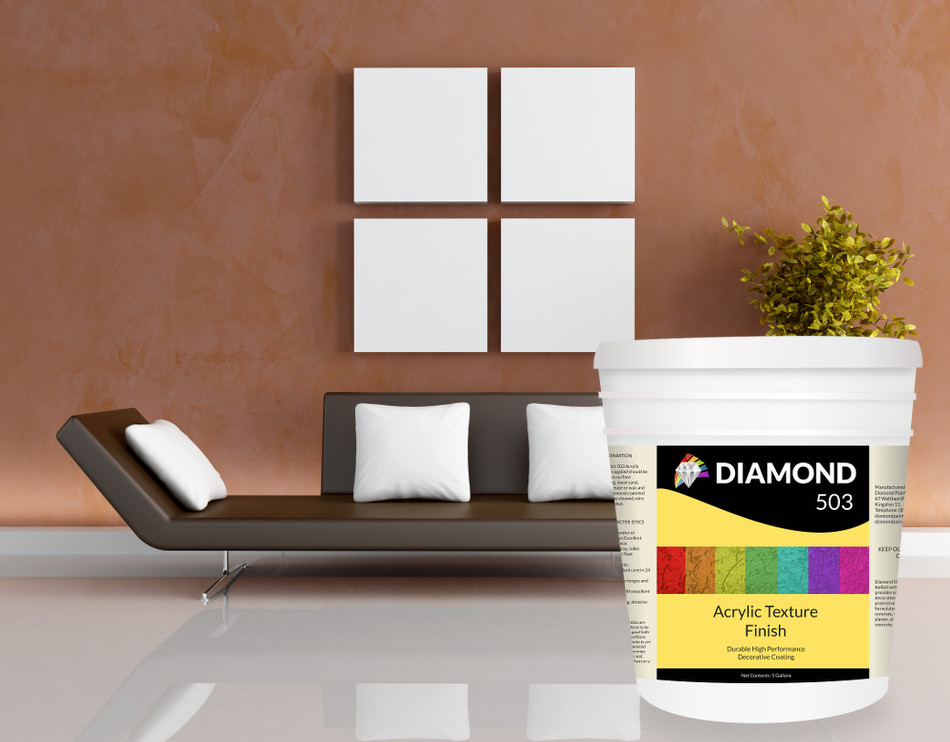 Diamond Paints Trowel on And Textured Finishes